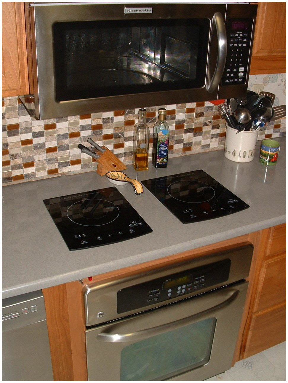 Induction Cooktop Using Duxtop 8300 Units